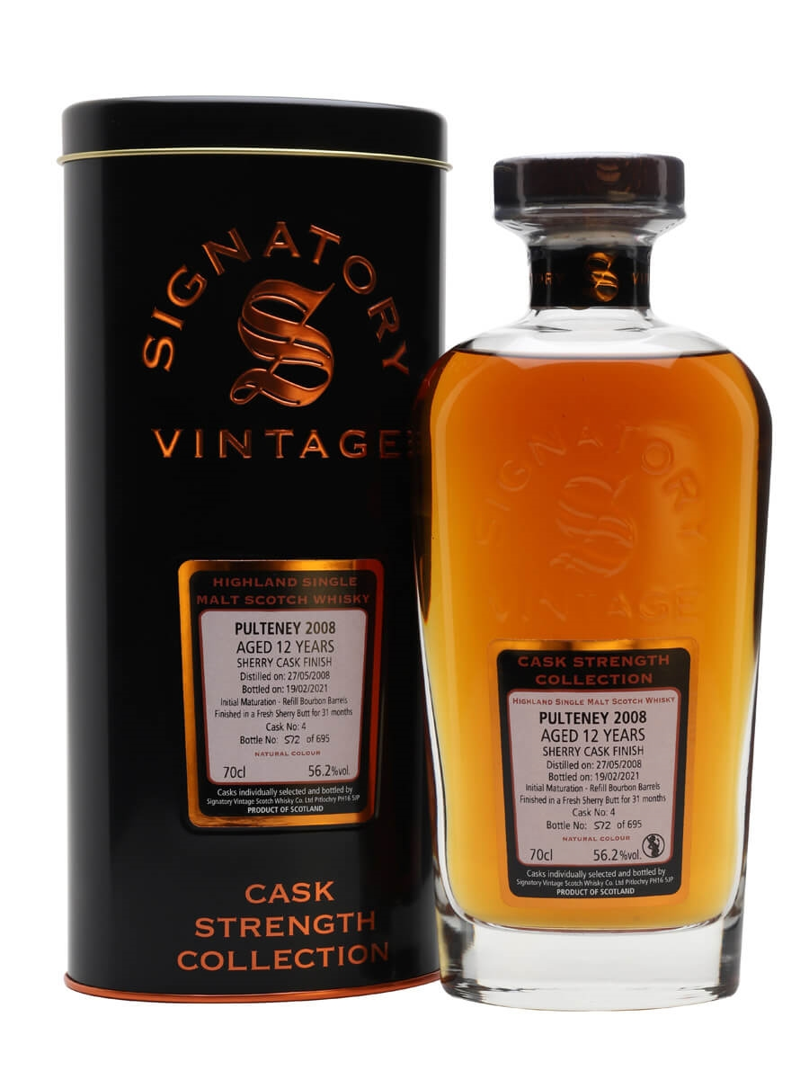 Old Pulteney 2008 / 12 Year Old / Signatory