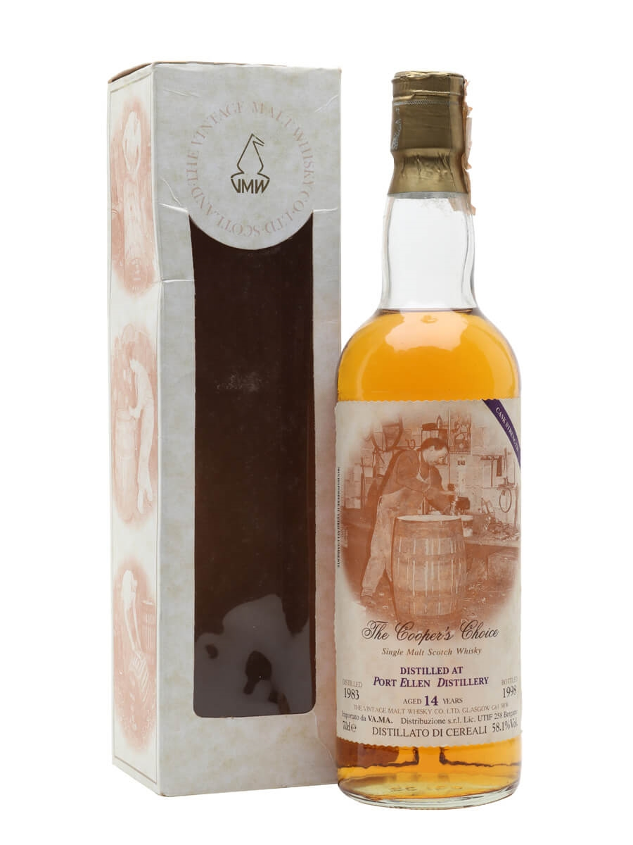 Port Ellen 1983 / 14 Year Old / The Cooper's Choice