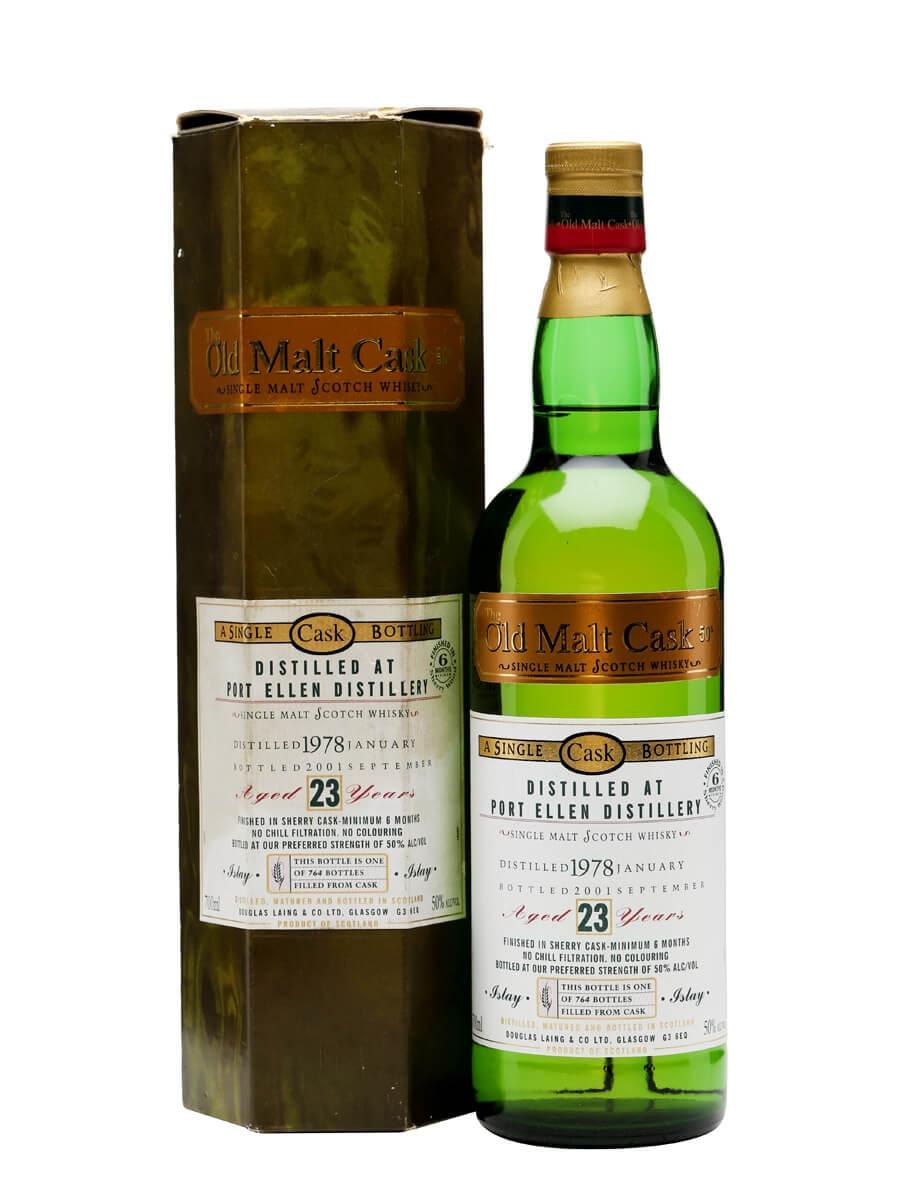 Port Ellen 1978 / 23 Year Old / Sherry Finish/ Old Malt Cask