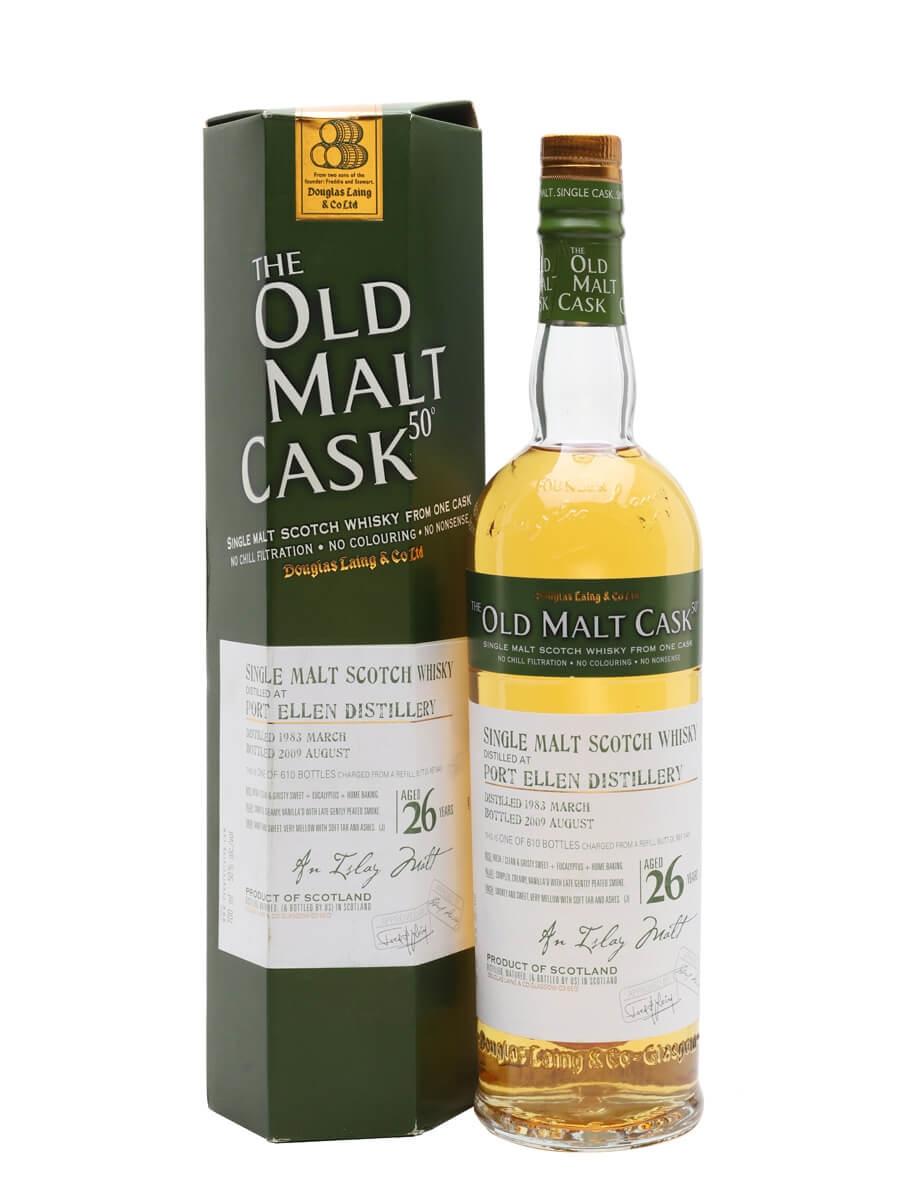 Port Ellen 1983 / 26 Year Old / Cask #5441 / Old Malt Cask