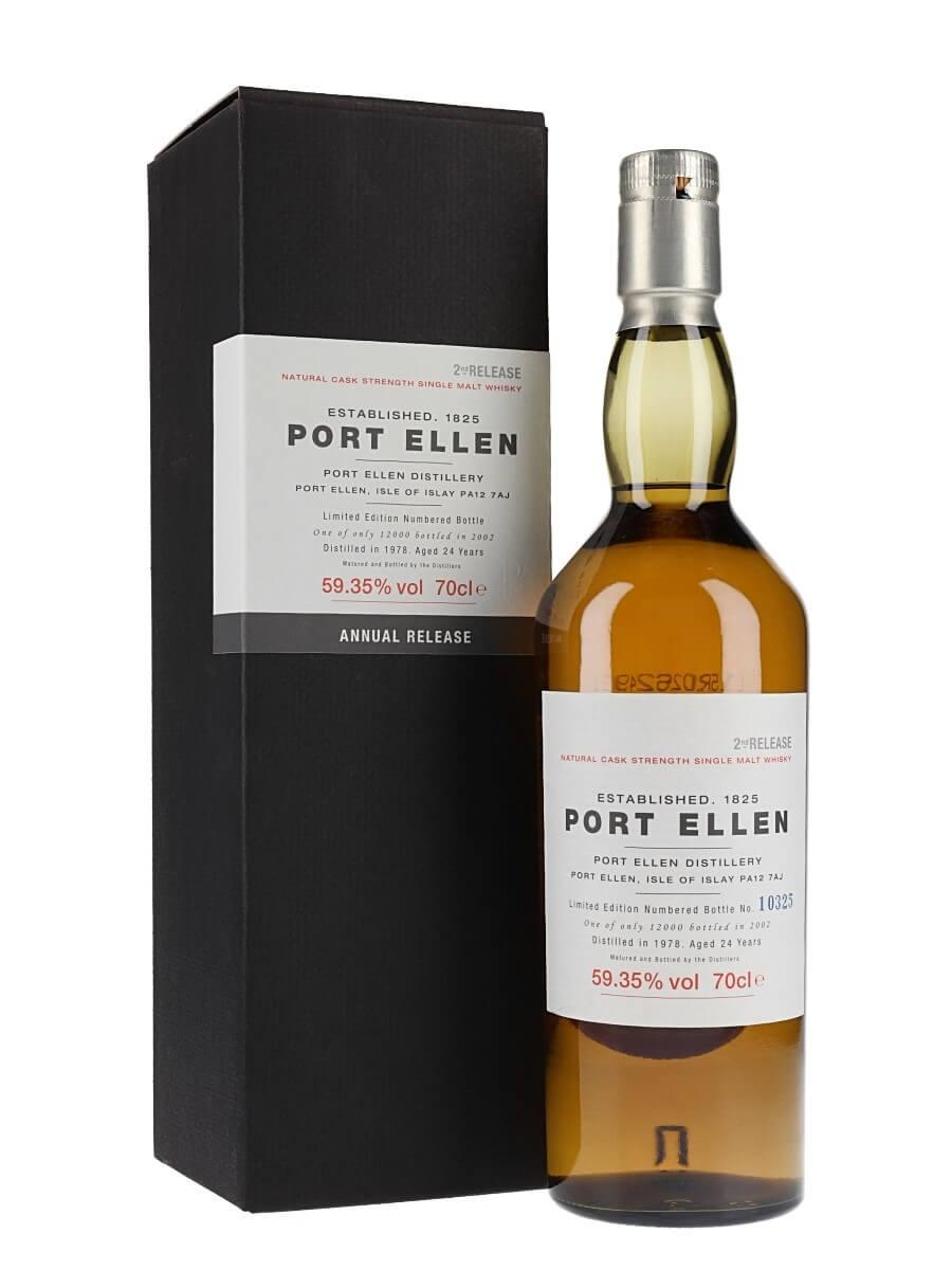 Port Ellen 1978 / 24 Year Old / 2nd Release (2002)