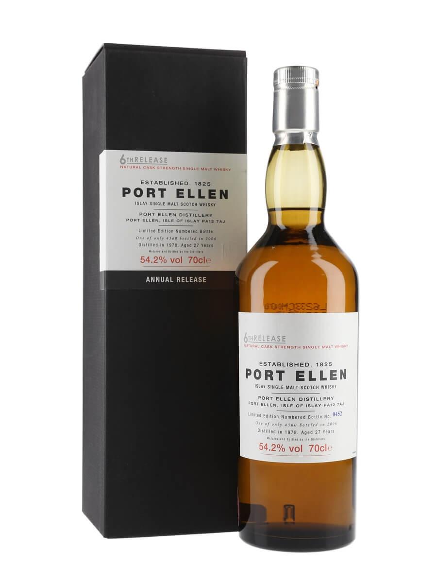 Port Ellen 1978 / 27 Year Old / 6th Release (2006)