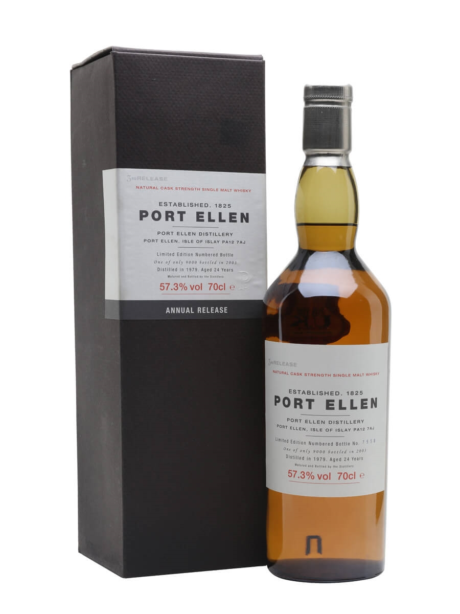 Port Ellen 1979 / 24 Year Old / 3rd Release (2003)