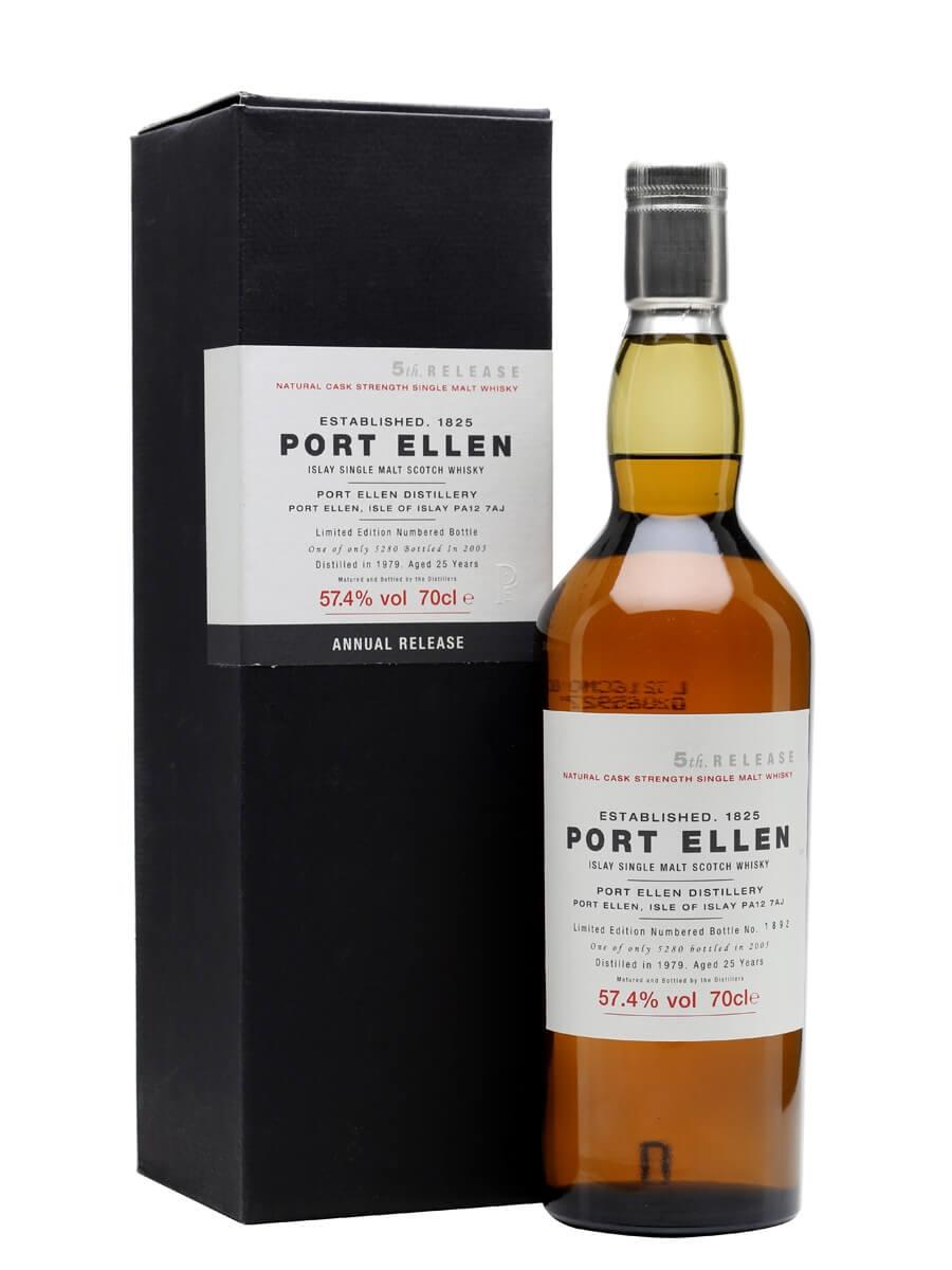 Port Ellen 1979 / 25 Year Old / 5th Release (2005)