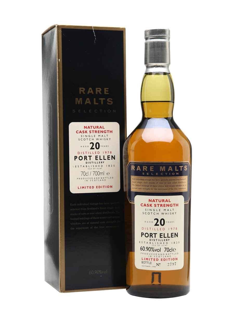 Port Ellen 1978 / 20 Year Old / Rare Malts