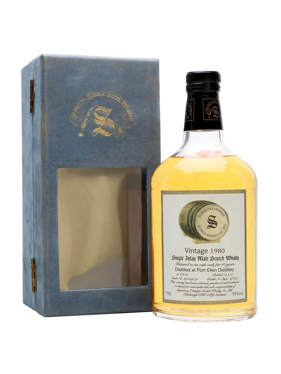 Port Ellen 1980 / 16 Year Old / Cask #89/589/19 / Signatory