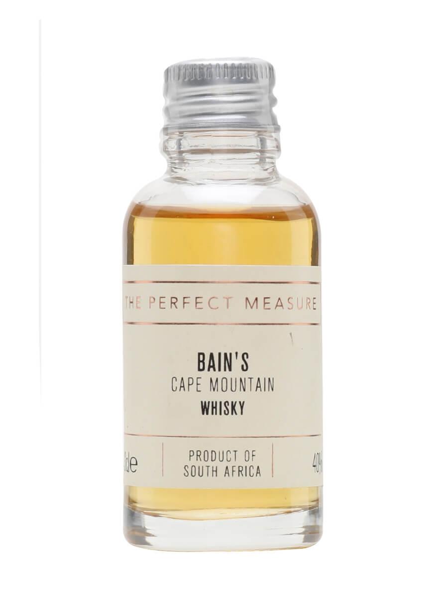 Bain's Cape Mountain Whisky Sample