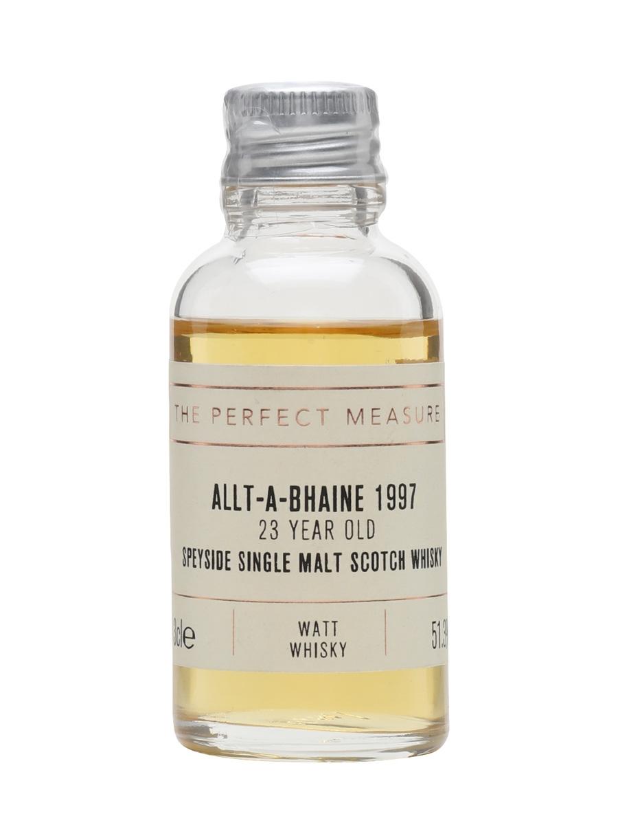 Allt-a-Bhaine 1997 Sample / 23 Year Old / Watt Whisky