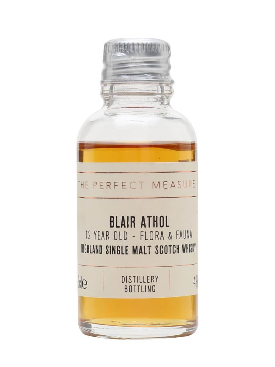 Blair Athol 12 Year Old Sample / Flora & Fauna