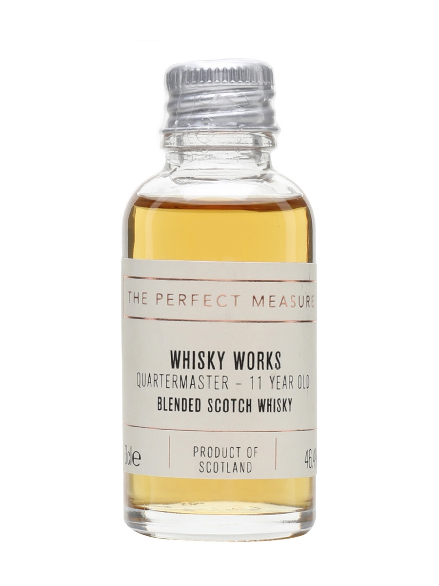 Quartermaster 11 Year Old Sample / Whisky Works