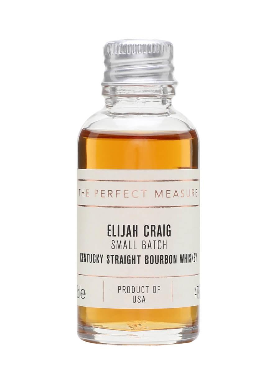 Elijah Craig Small Batch Sample
