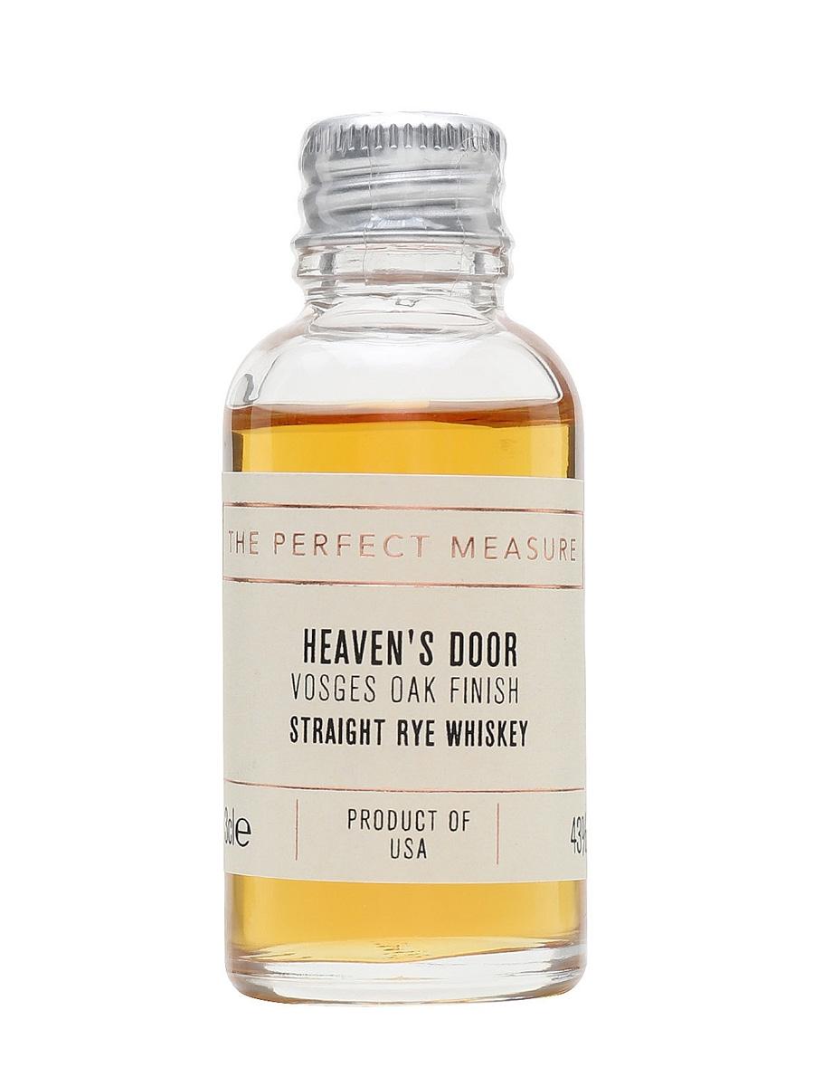 Heavens Door Straight Rye Sample