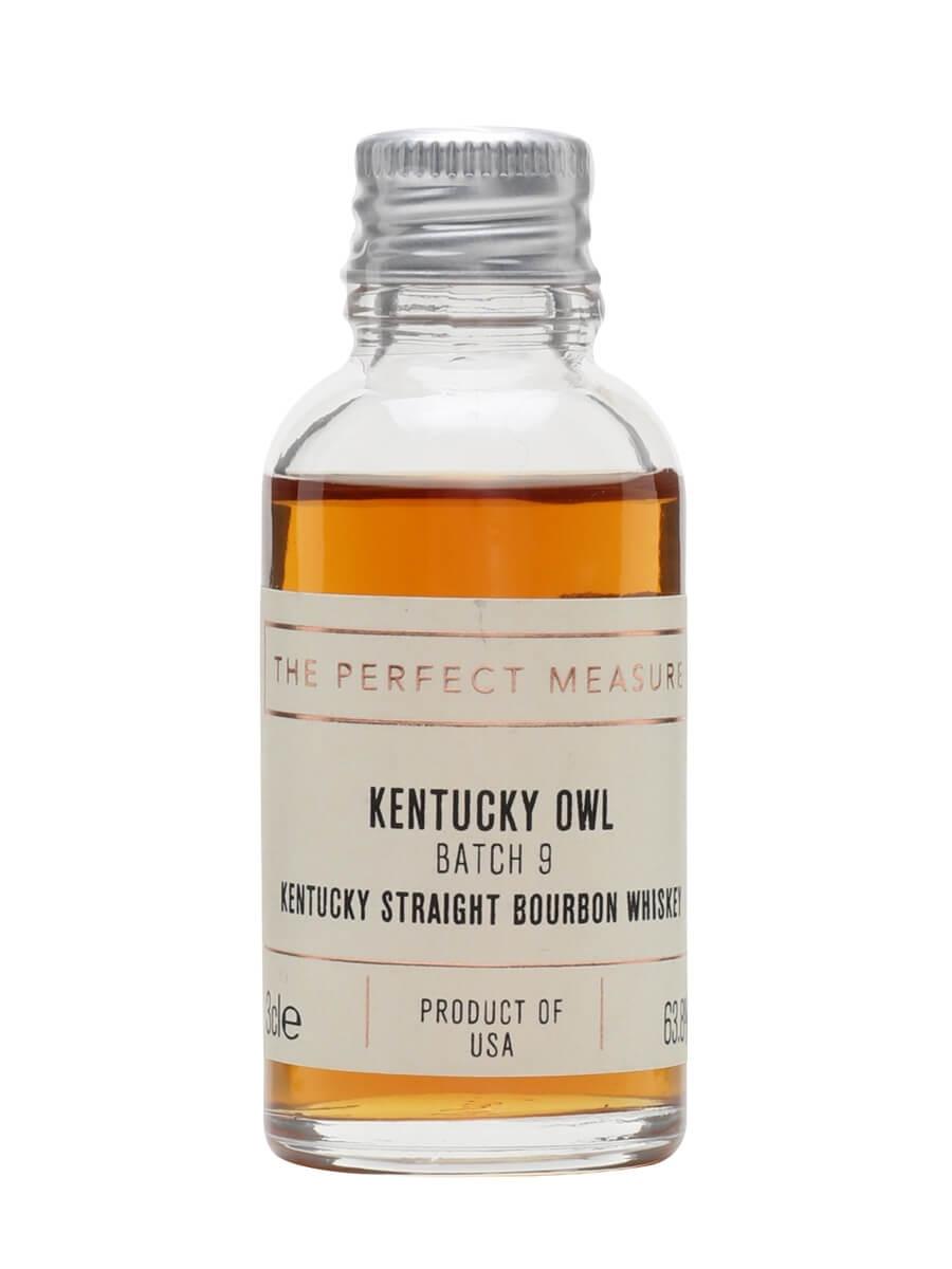 Kentucky Owl Straight Bourbon Sample / Batch 9