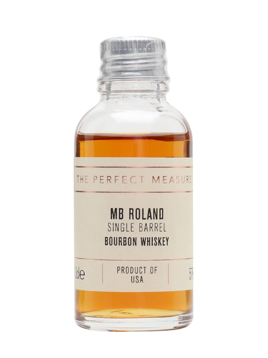 MB Roland Single Barrel Bourbon Sample