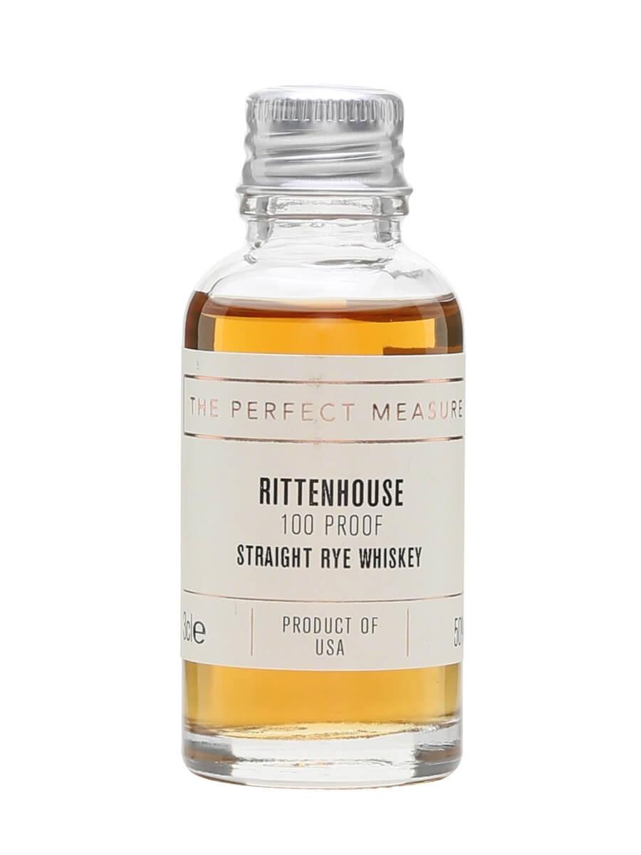 Rittenhouse Bottled In Bond Straight Rye Sample / 100 Proof