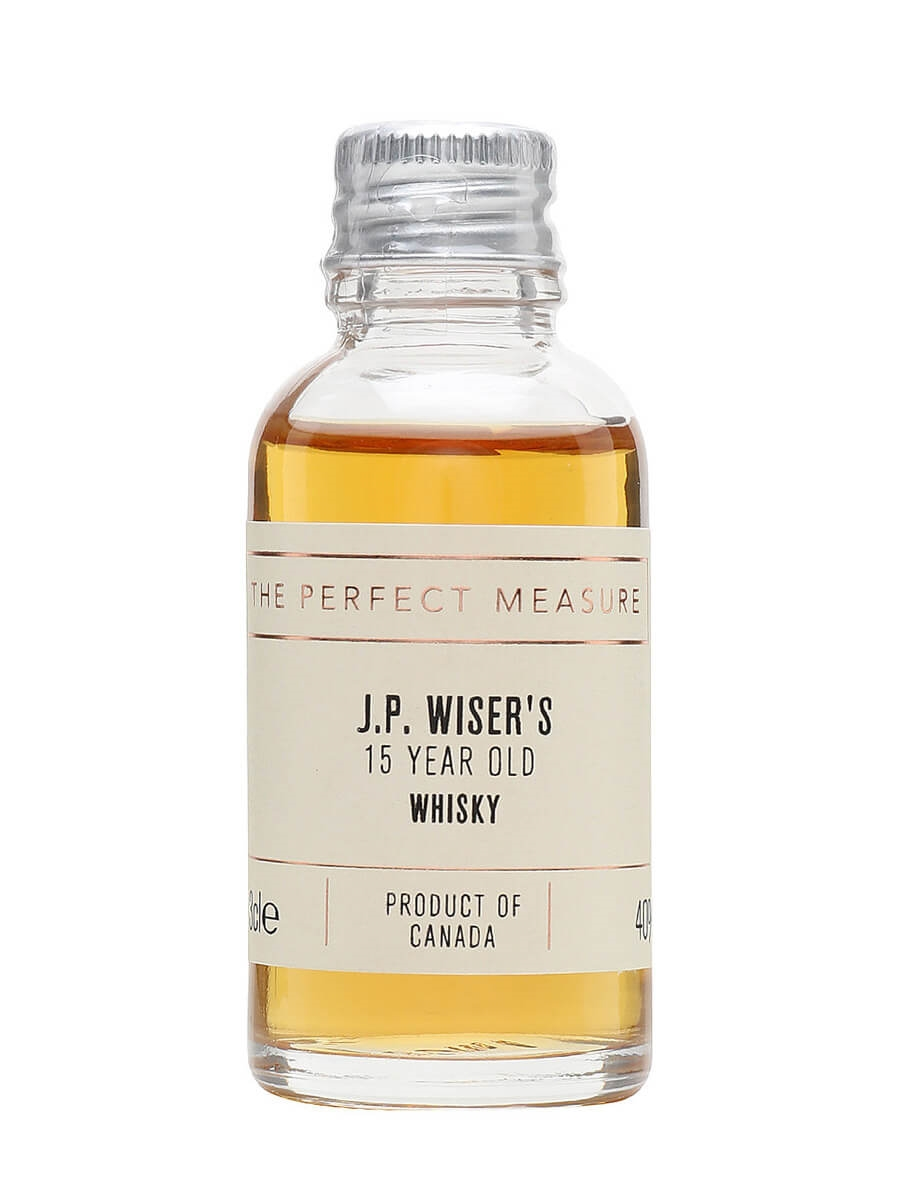 JP Wiser's 15 Year Old Sample