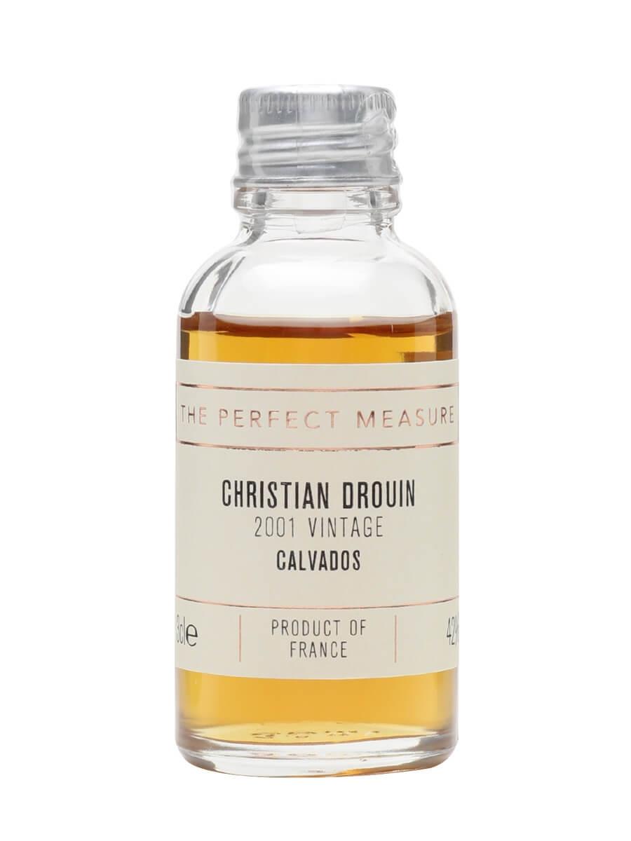 Christian Drouin 2001 Calvados Sample