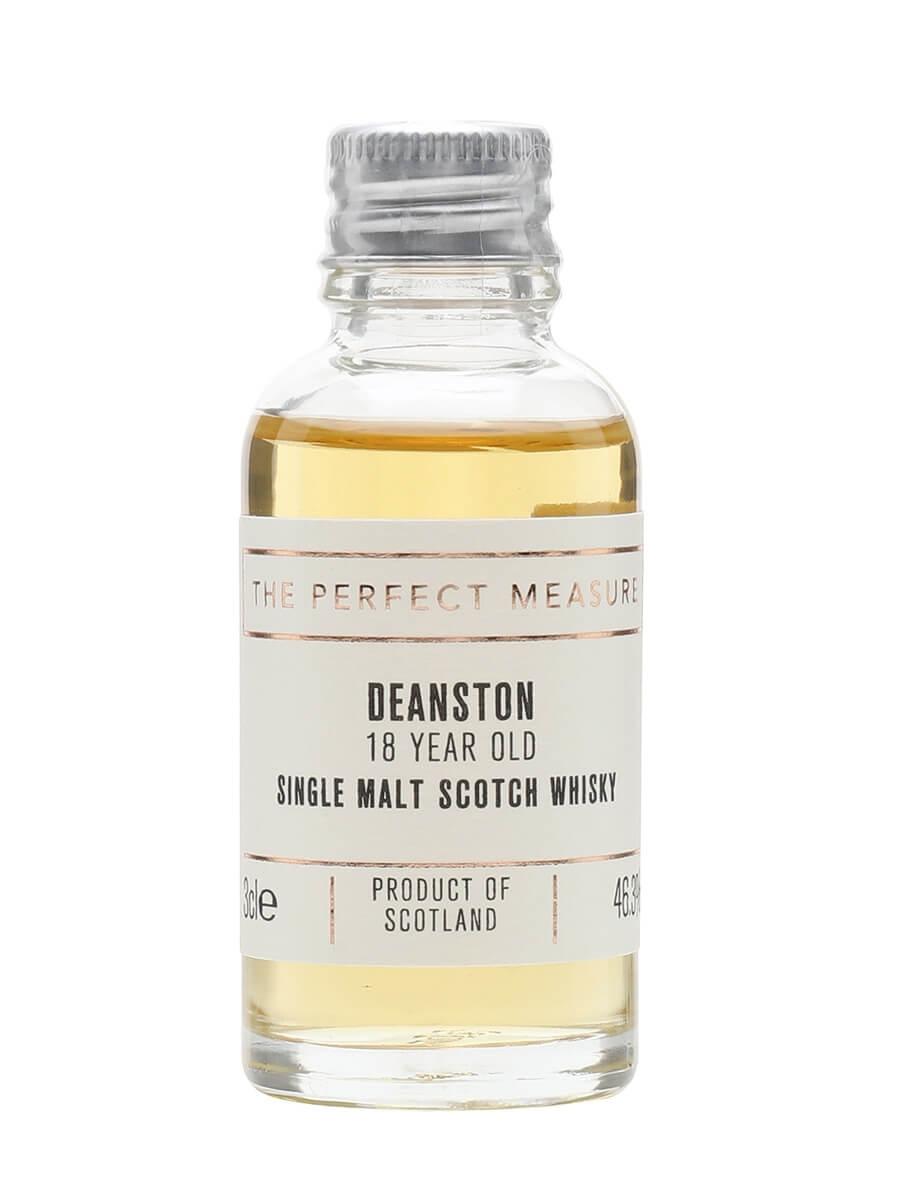 Deanston 18 Year Old Sample / Bourbon Matured