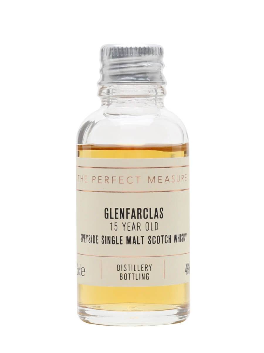 Glenfarclas 15 Year Old Sample