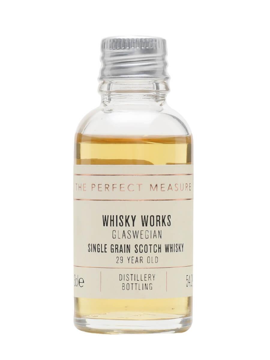 Glaswegian Single Grain 29 Year Old Sample /Whisky Works
