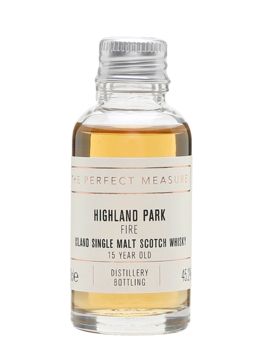 Highland Park Fire 15 Year Old Sample