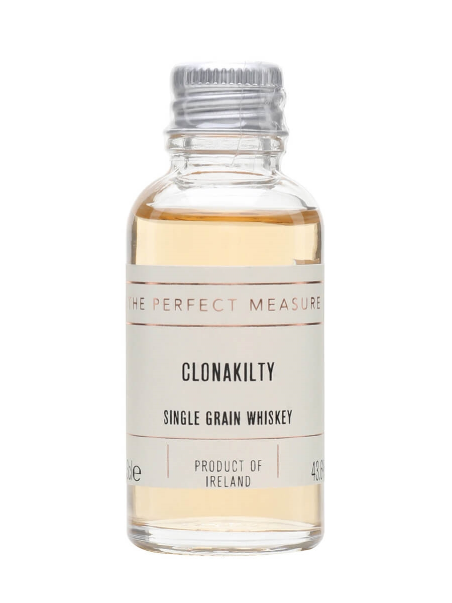 Clonakilty Single Grain Irish Whiskey Sample