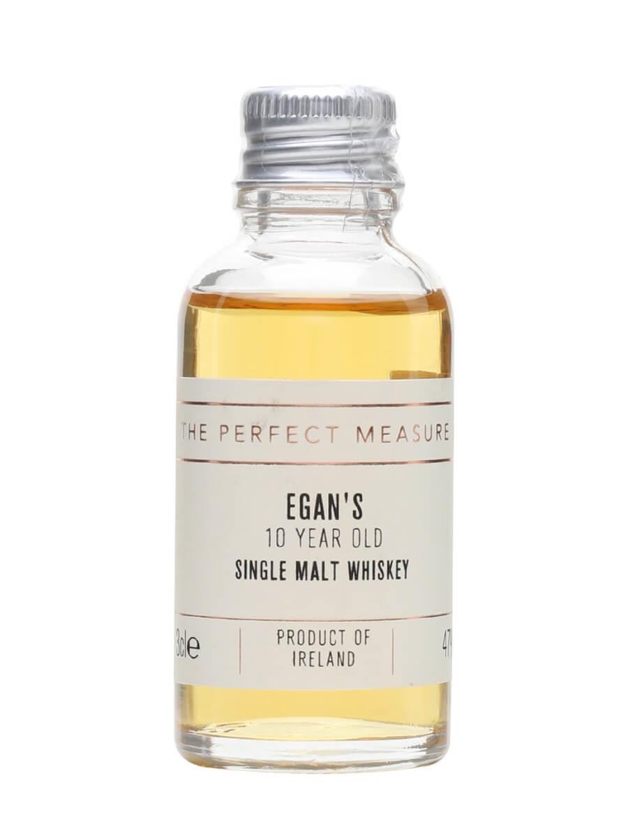 Egan's Single Malt Whiskey 10 Year Old Sample