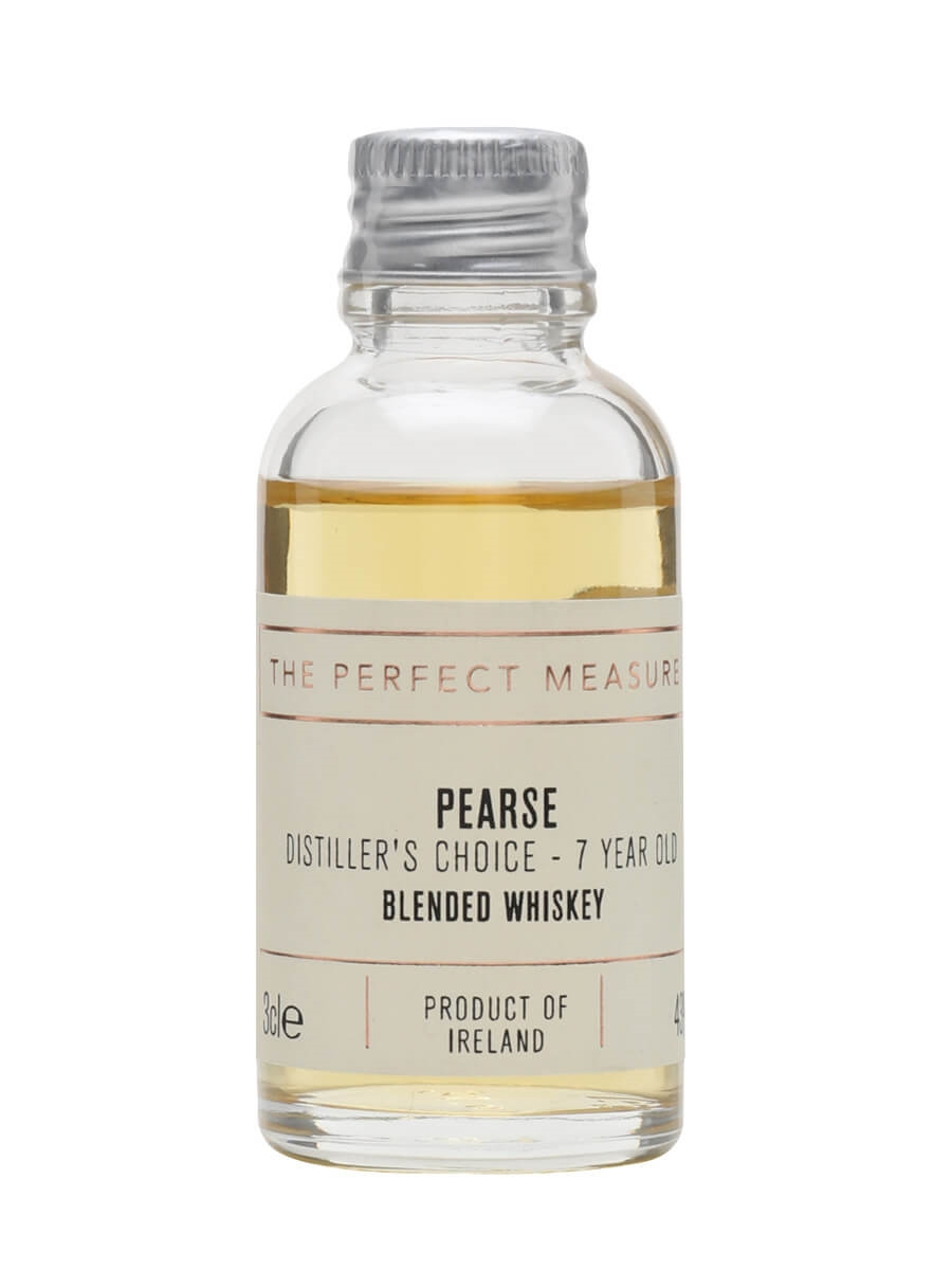 Pearse Distiller's Choice 7 Year Old Blended Whiskey Sample