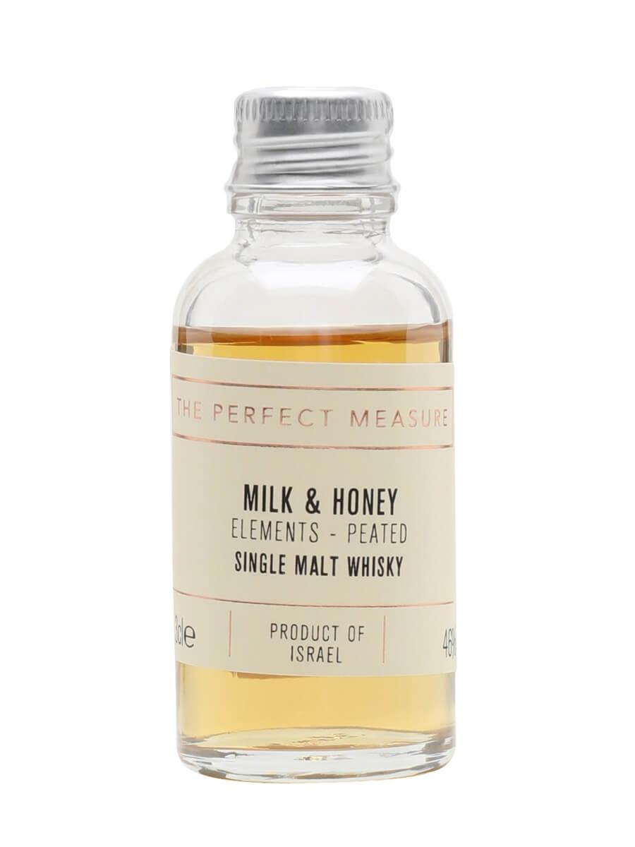 Milk & Honey Peated Cask Sample / Elements Series