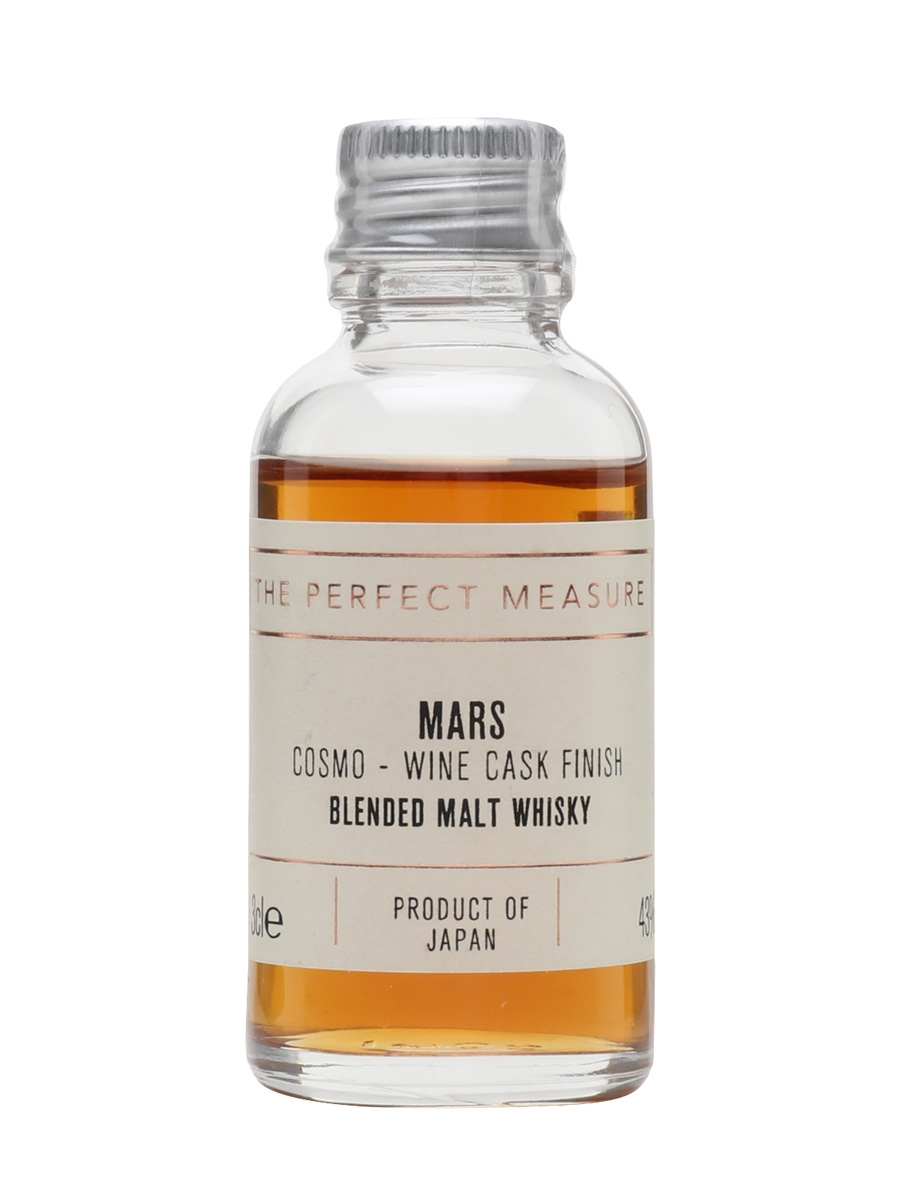 Mars Cosmo Wine Cask Finish Sample