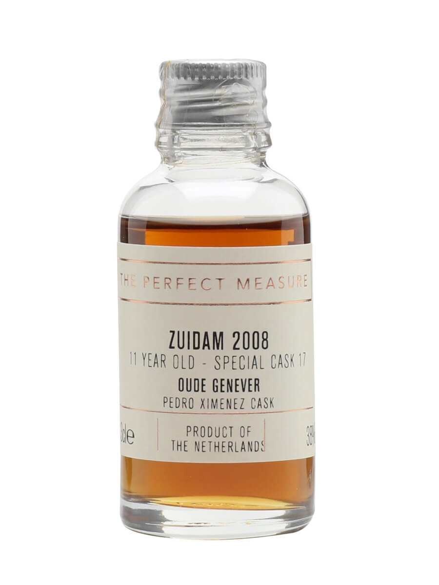 Zuidam 11 Year Old Genever Sample / Special Cask #17 / PX