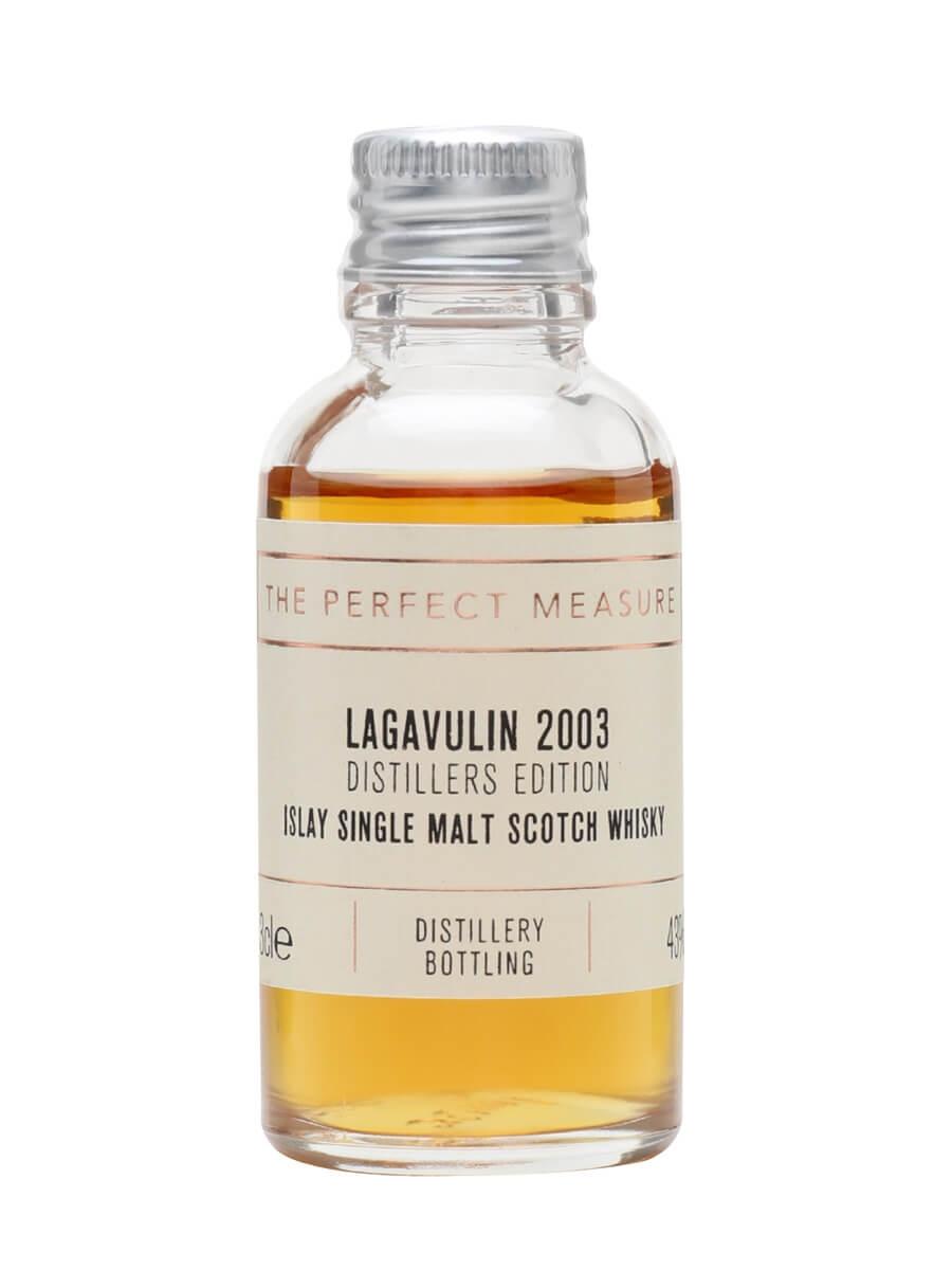 Lagavulin 2003 Distillers Edition Sample / Bot.2019