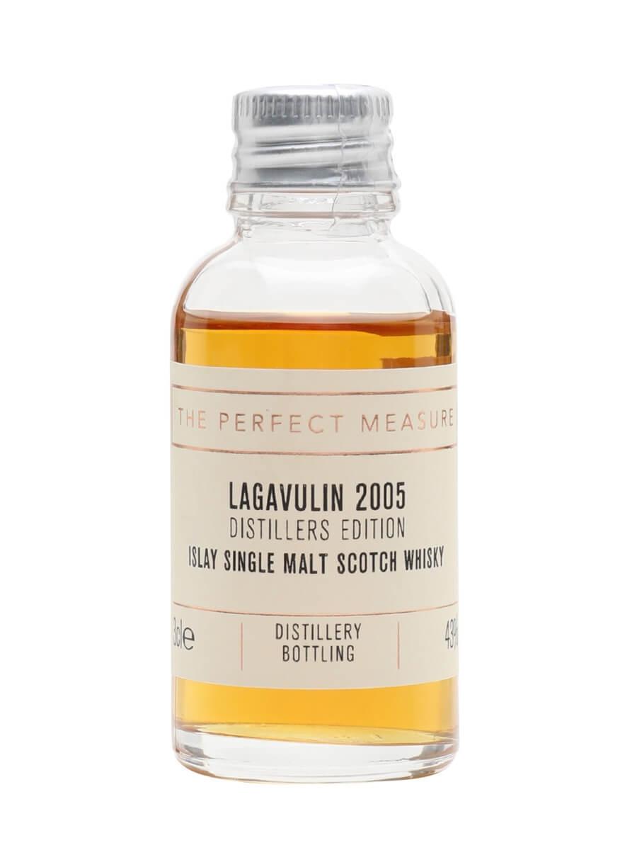 Lagavulin 2005 Distillers Edition Sample