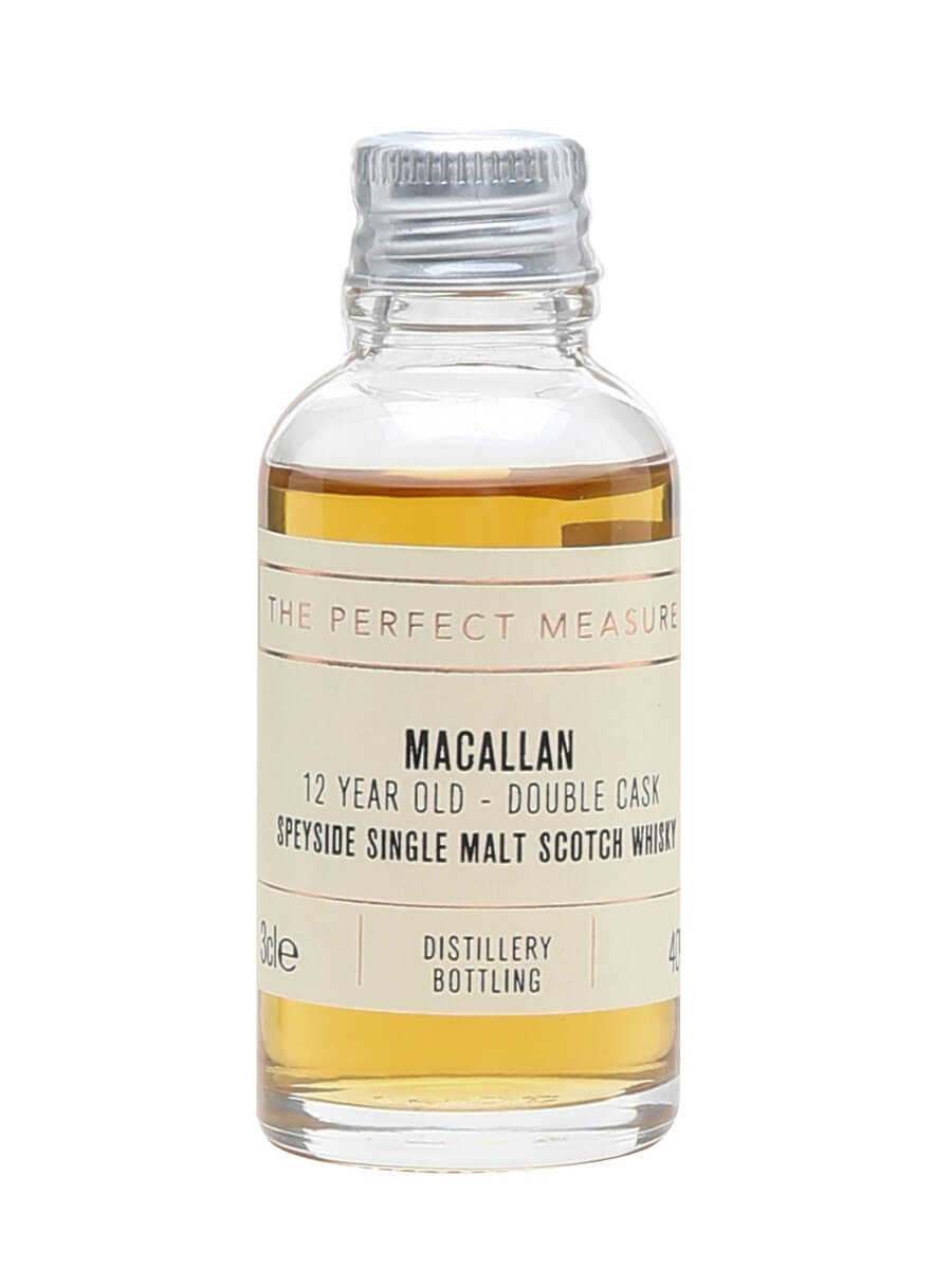Macallan 12 Year Old Double Cask Sample
