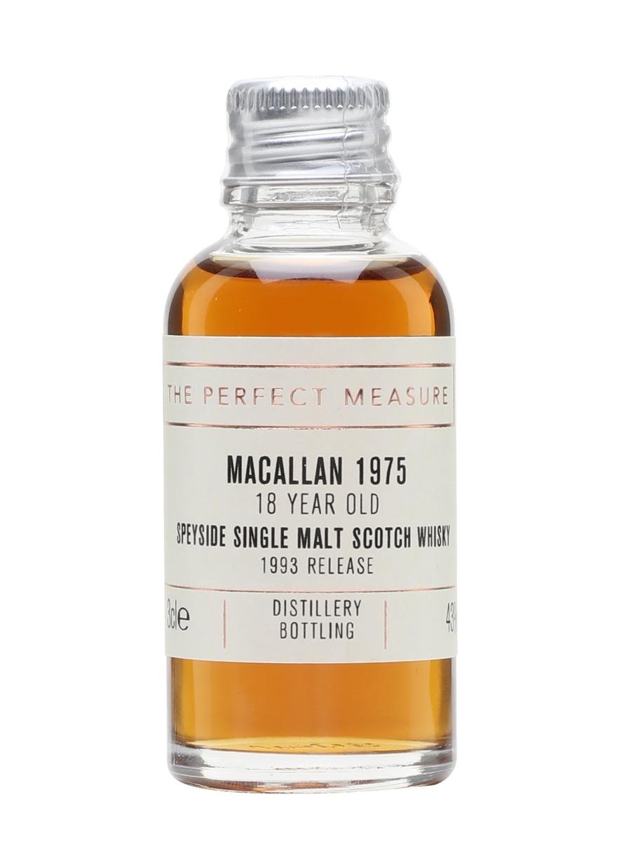 Macallan 1975 Sample / 18 Year Old