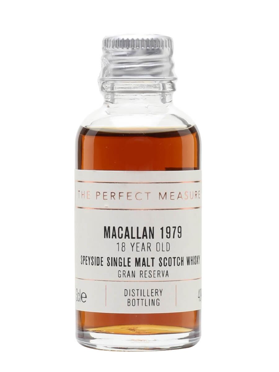 Macallan 1979 Sample / 18 Year Old / Gran Reserva