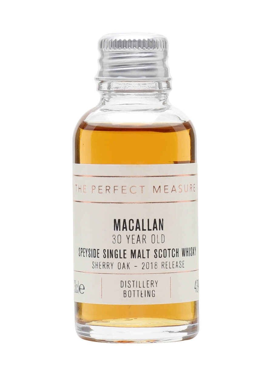 Macallan 30 Year Old  Sample / Sherry Oak / 2018 Release
