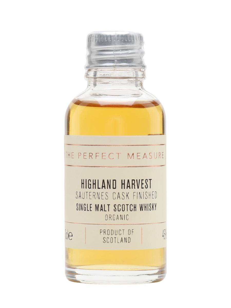 Highland Harvest Organic Sample / Sauternes Cask Finish