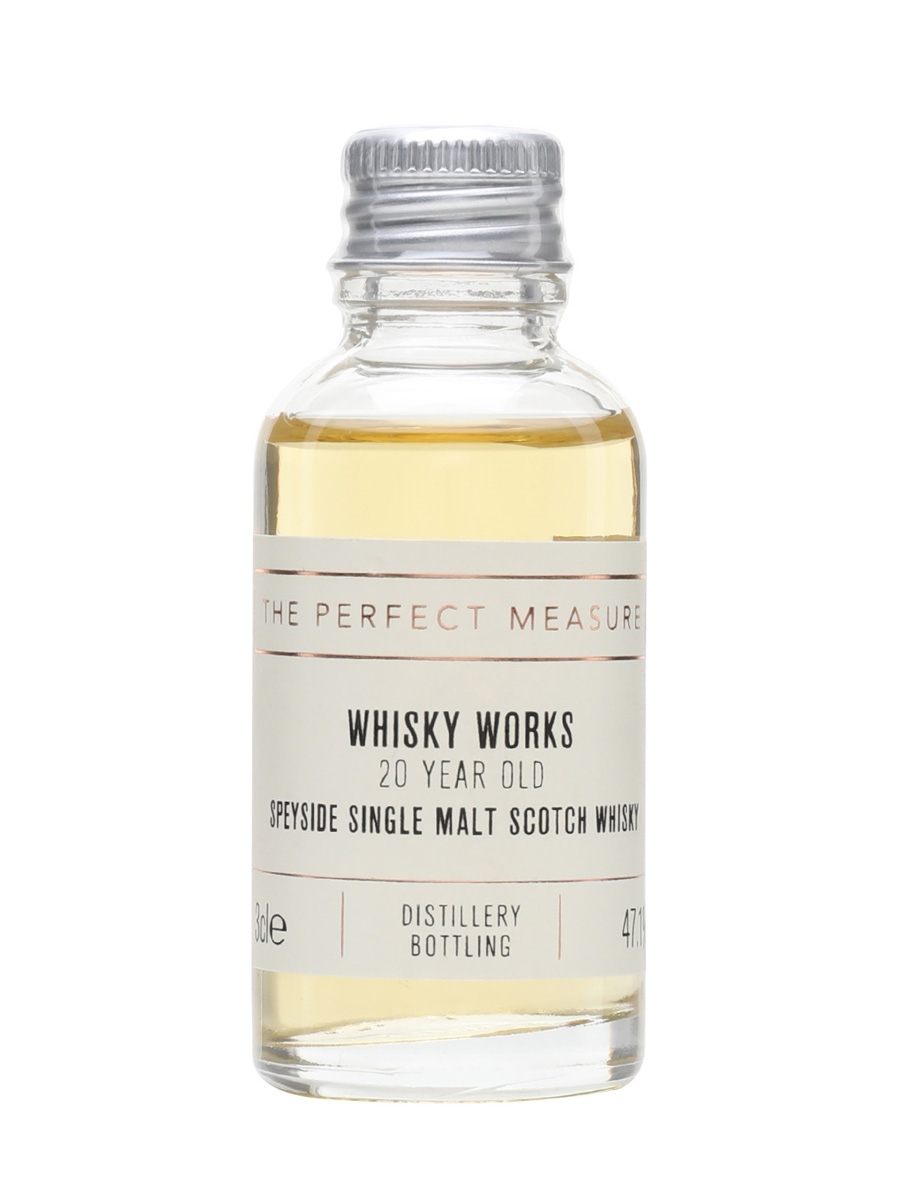 20 Year Old Speyside Cognac Finish Sample / Whisky Works