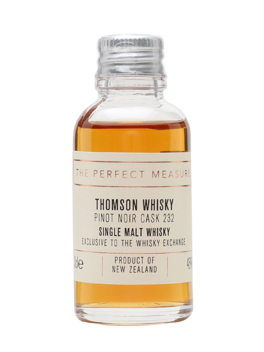 Thomson New Zealand Whisky Pinot Noir Cask Sample / TWE Exclusive