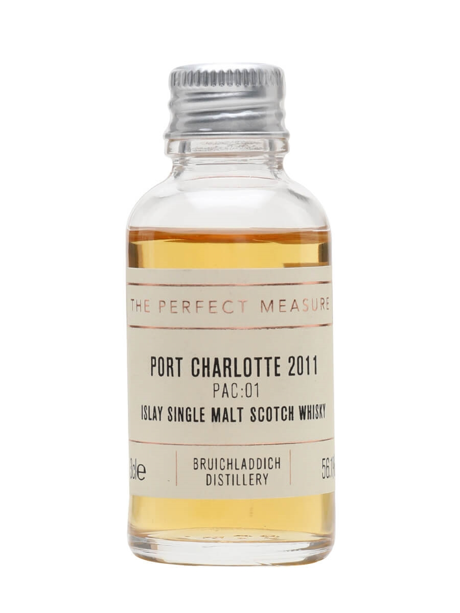 Port Charlotte PAC:01 2011 Heavily Peated Sample