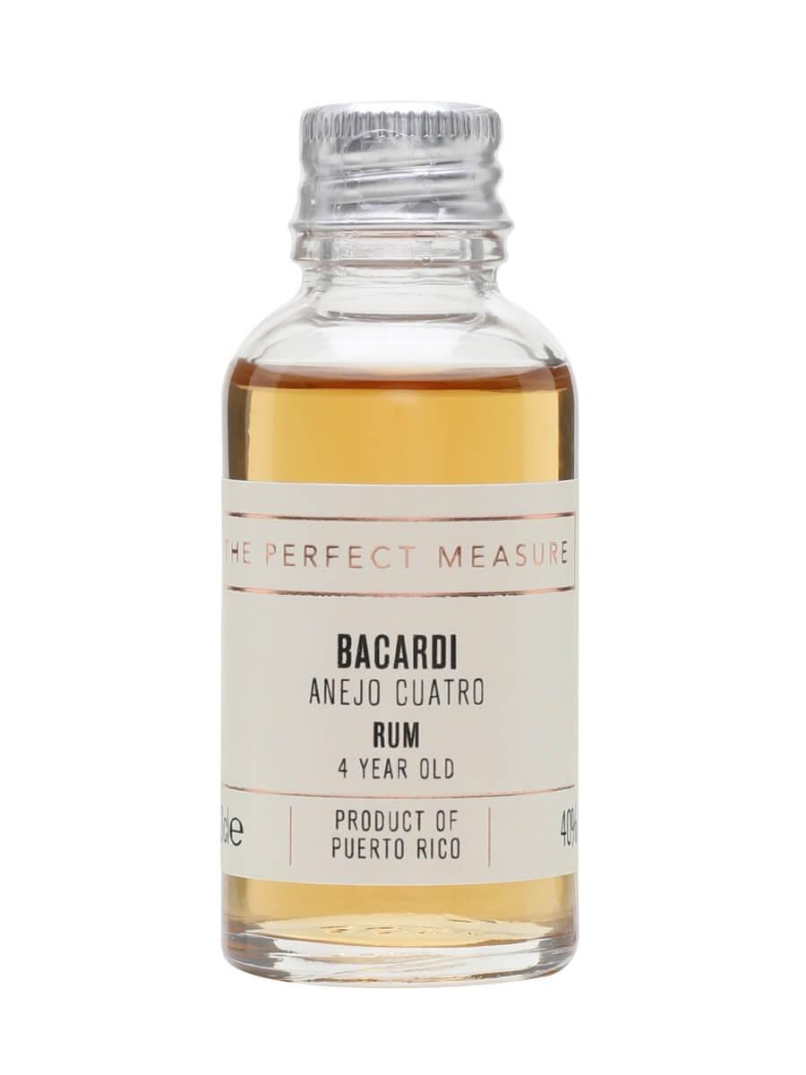 Bacardi Anejo Cuatro Rum Sample / 4 Year Old