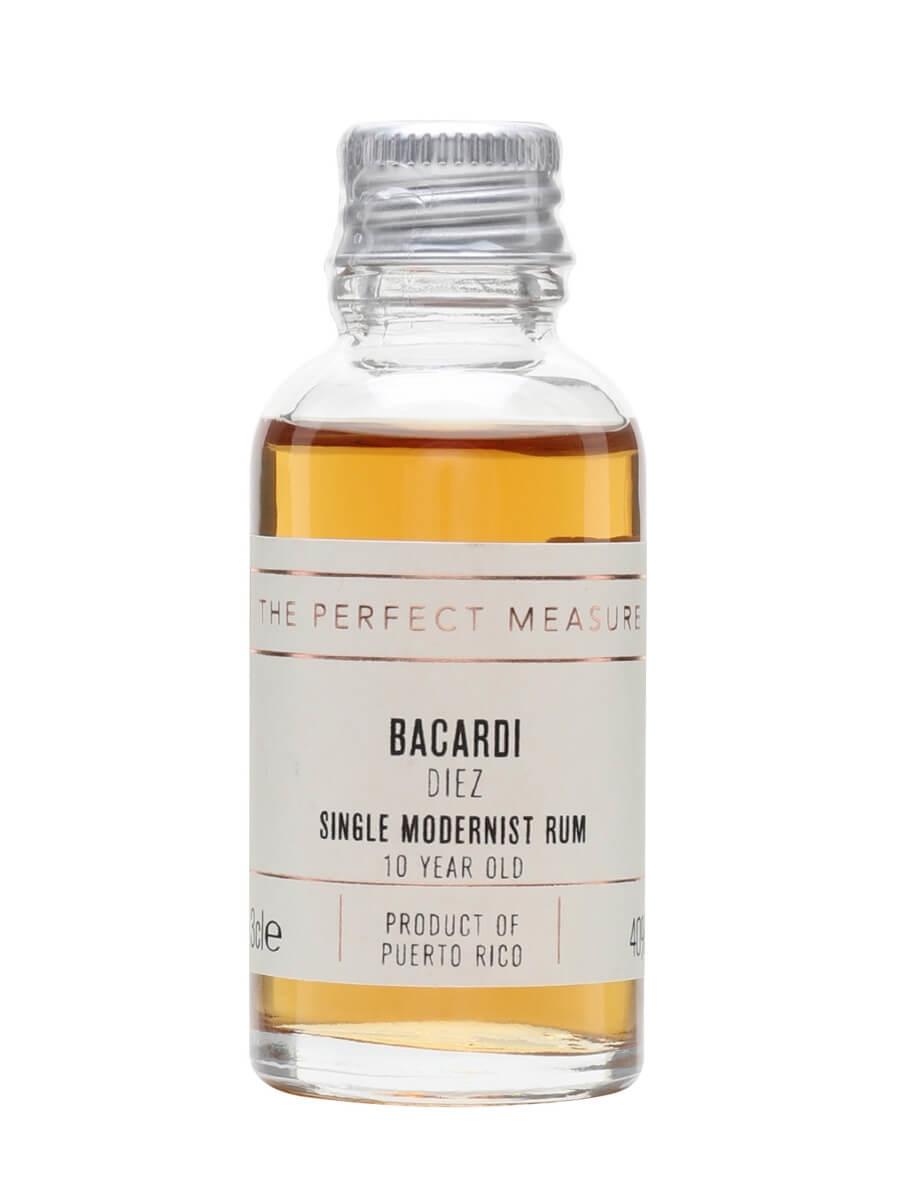 Bacardi Diez Rum Sample / 10 Year Old