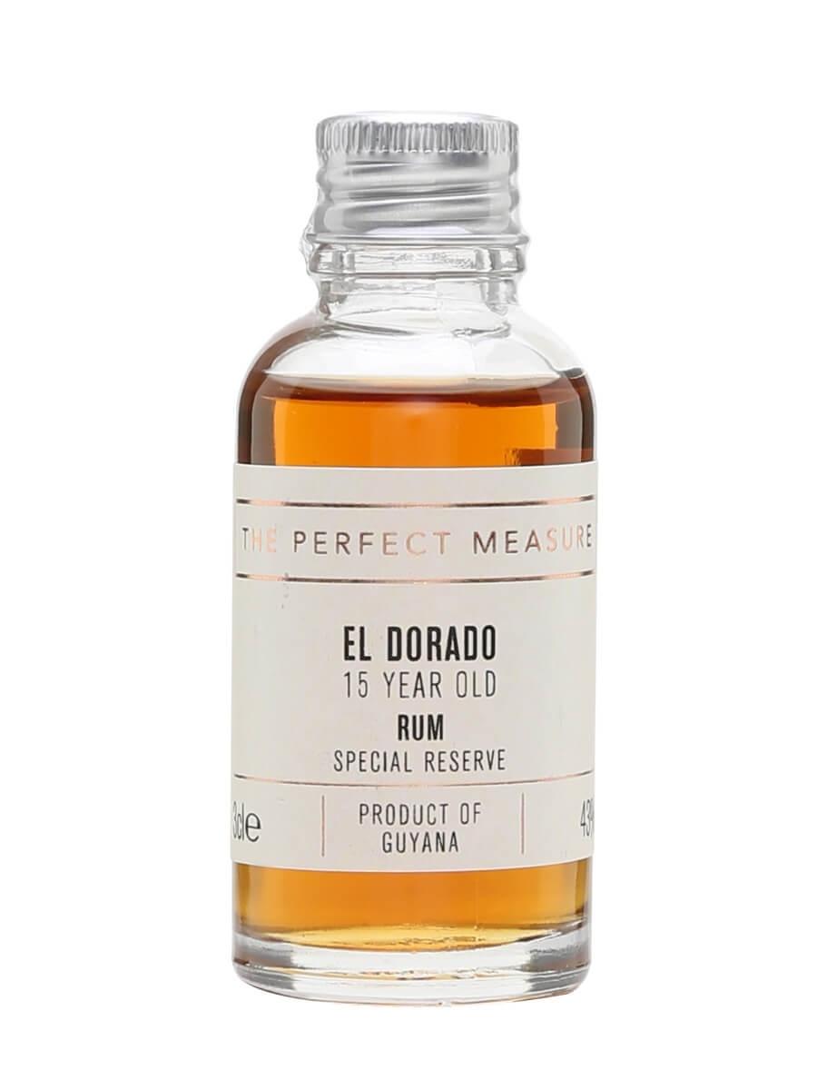 El Dorado Rum 15 Year Old Sample