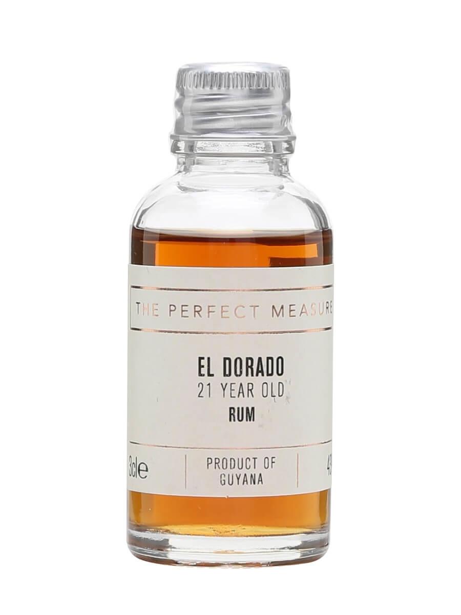El Dorado Rum 21 Year Old Sample