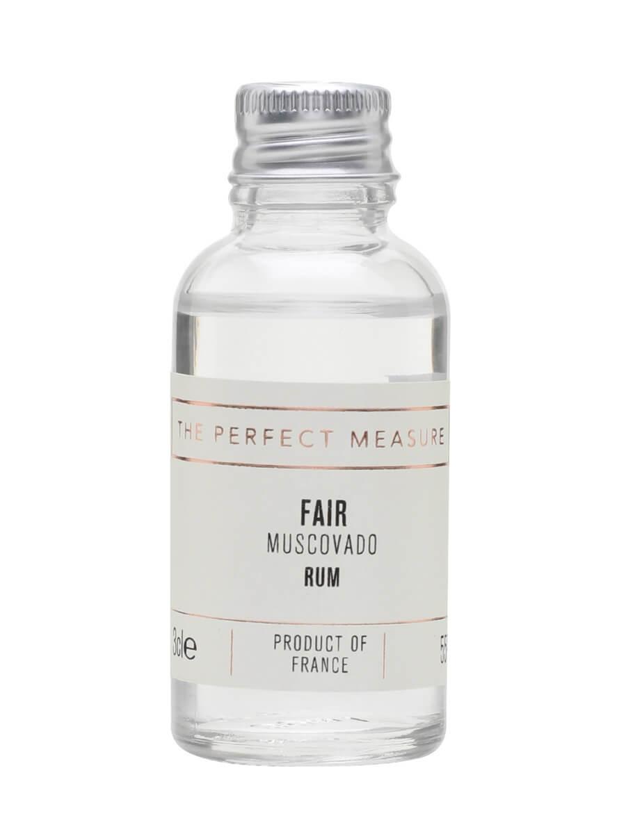 Fair Muscovado Rum Sample