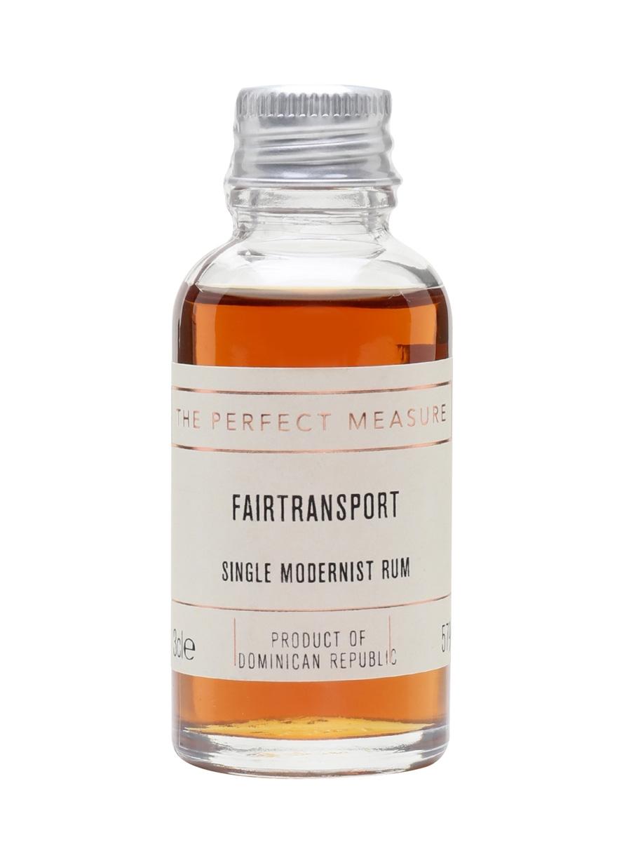 Fairtransport Dominican Republic Rum Sample