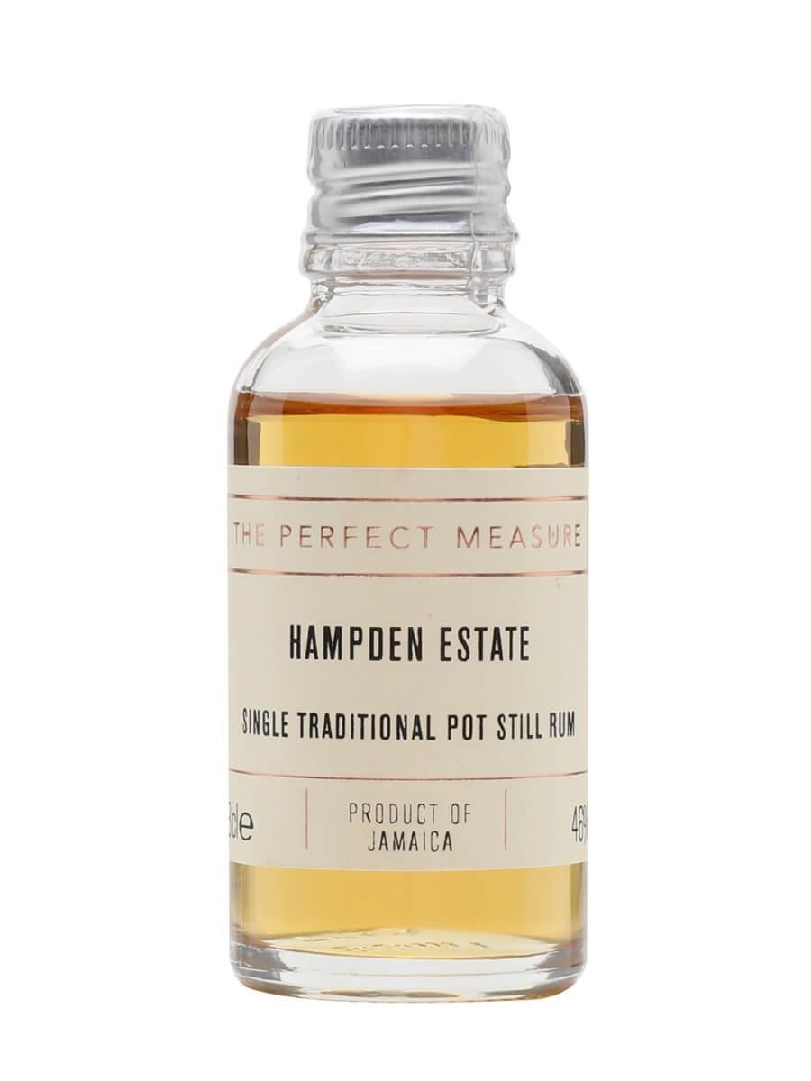 Hampden Estate Rum Sample