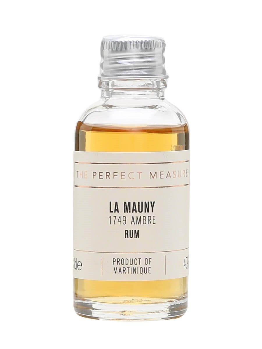 La Mauny 1749 Ambre Sample