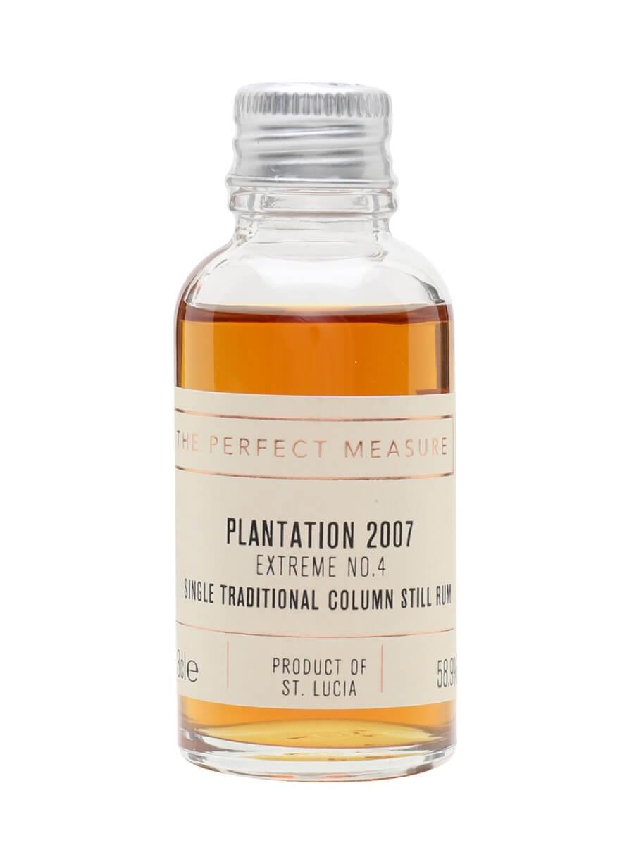 Plantation St Lucia 2007 Rum Sample / Extreme No.4